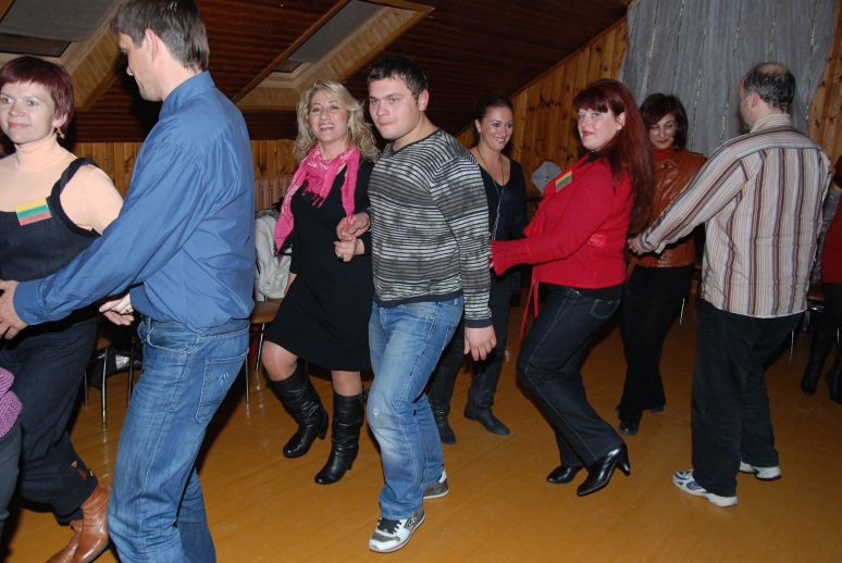 adults folk-dancing