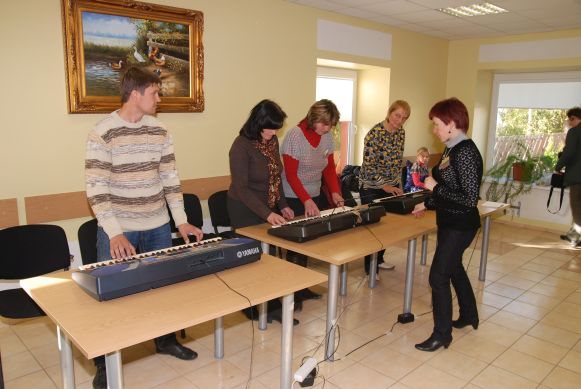 keyboard group-lesson