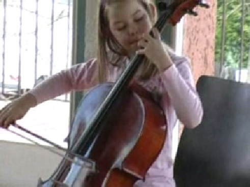 music as a sport neurodidactic brain-based method young girl playing cello